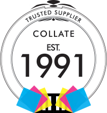 Collate Business Systems Ltd est. 1991 logo